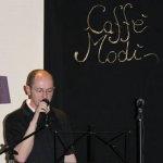 Fabio Barcellandi al Caffè Modì di Mantova