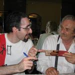 Luca Artioli e Jack Hirschman 21-06-2008