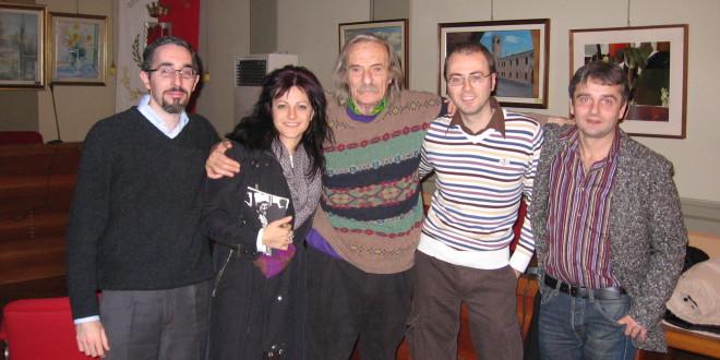 Jack Hirschman a Castel Goffredo (MN) 9 dicembre 2008