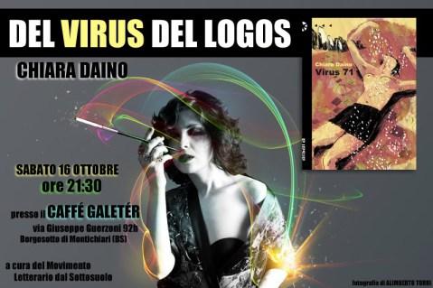 Chiara Daino: Del Virus del Logos