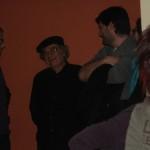 Beppe Costa con Andrea Garbin e Cornelius Mine HA HA