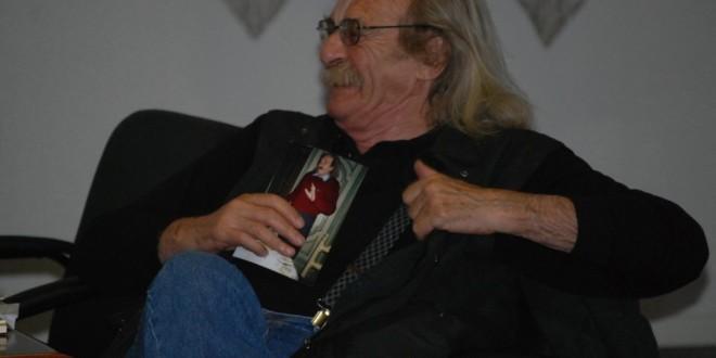 con JACK HIRSCHMAN a Moniga del Garda – 16 Maggio 2012