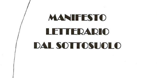 01 – Manifesto Letterario dal Sottosuolo